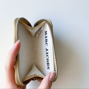 """Marc Jacobs """"Special Items"""" Gold Coin Purse"""